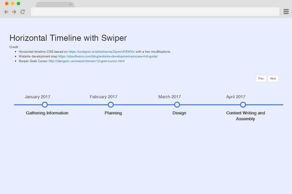 23 Engaging Horizontal Timeline Examples For 2019
