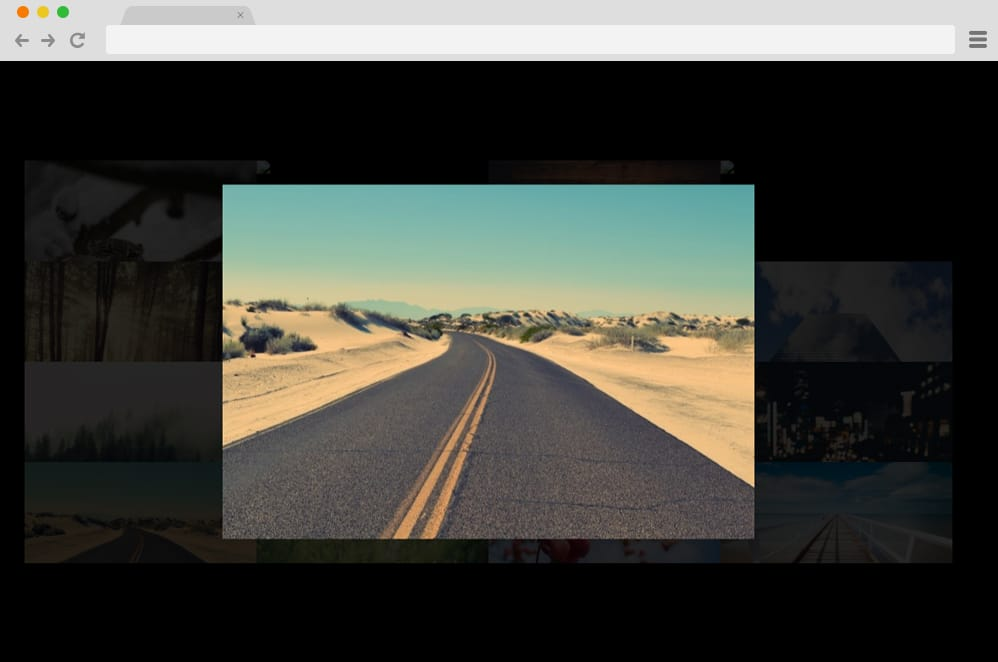 Lightbox CSS Gallery css image gallery