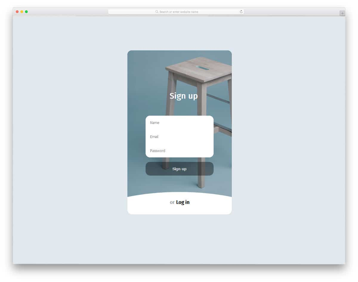 Login-Signup-Form-Animation