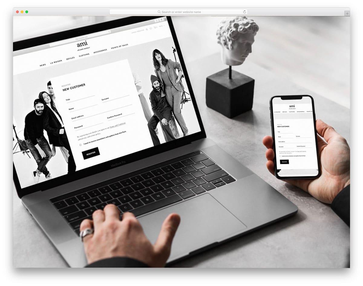 macbook mockups for responsive designs