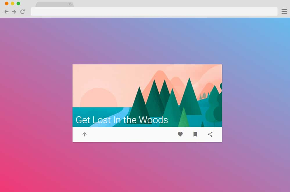 Material Design Card Animation by trevor material design cards