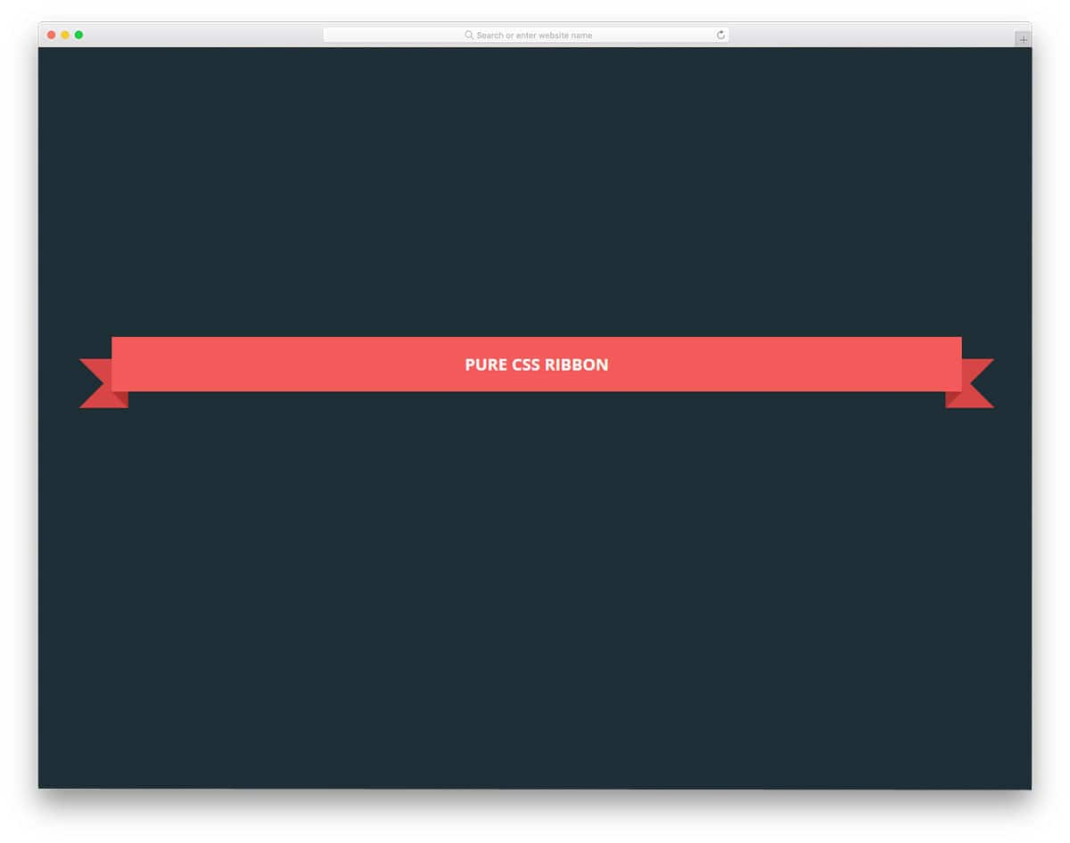 Pure-CSS-Ribbon-By-Arlina-Design