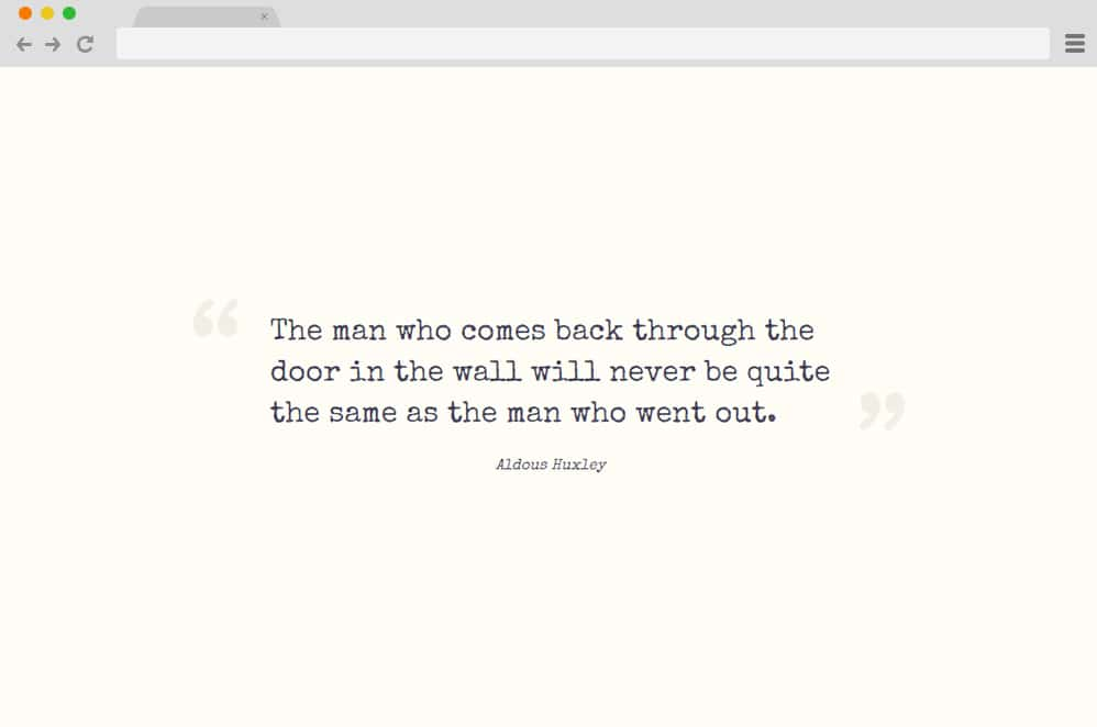 Quote Styling CSS Blockquote