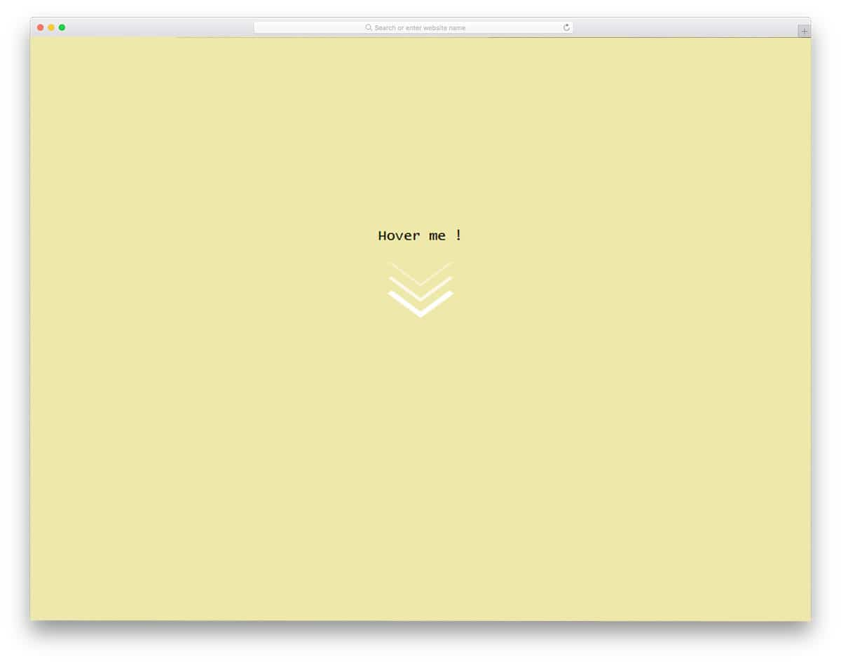 25 Beautiful CSS Arrow Designs With Meteoric Animation