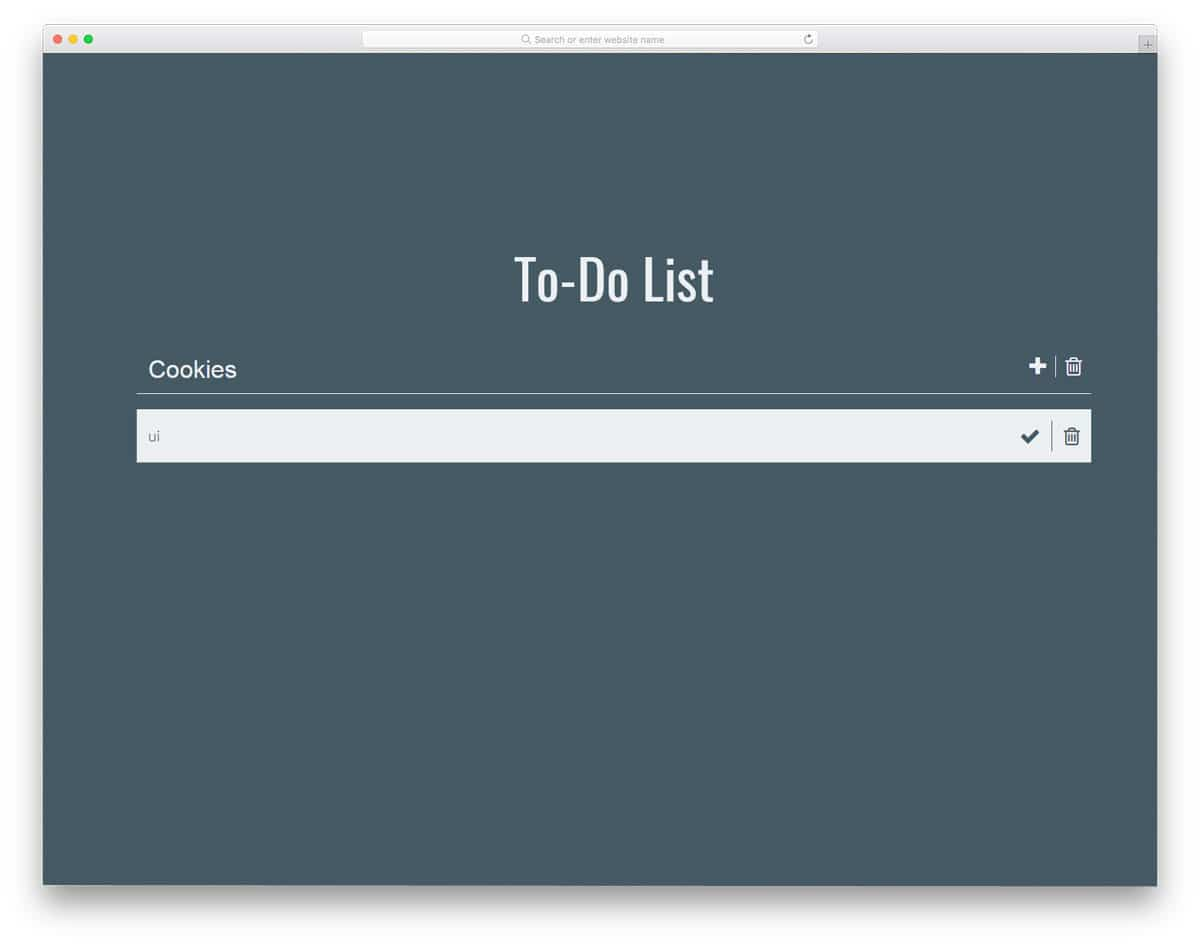 Simple-To-Do-List