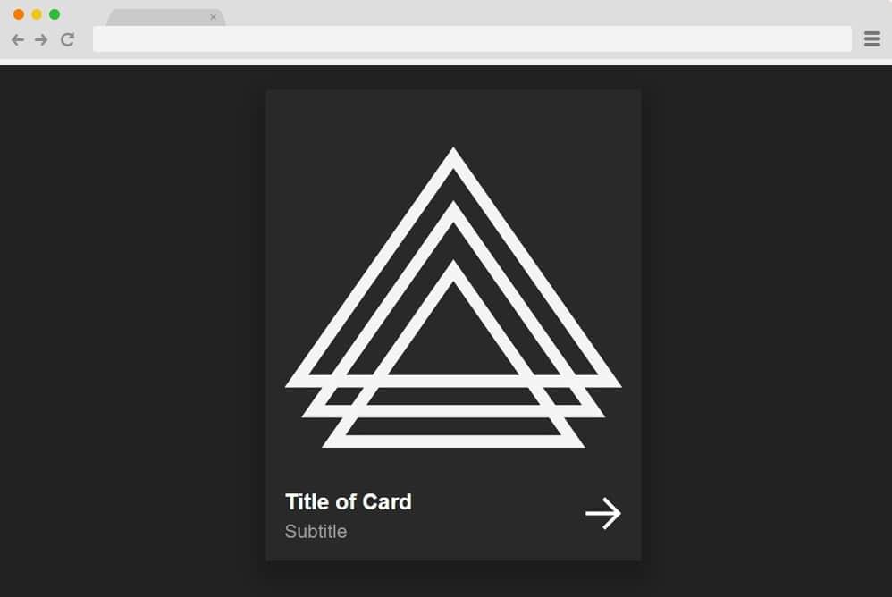 card animation