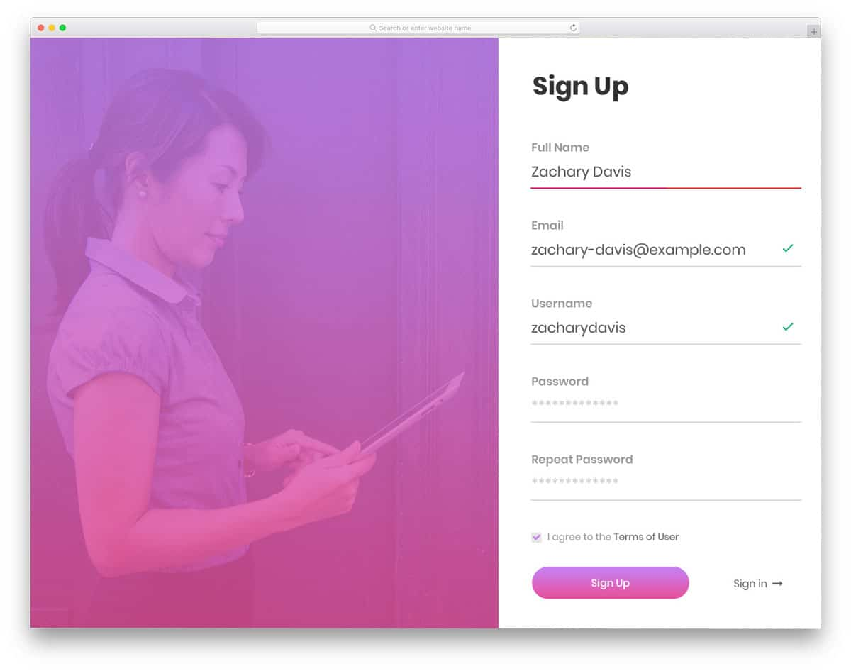 login-form-13-beautiful-css-forms