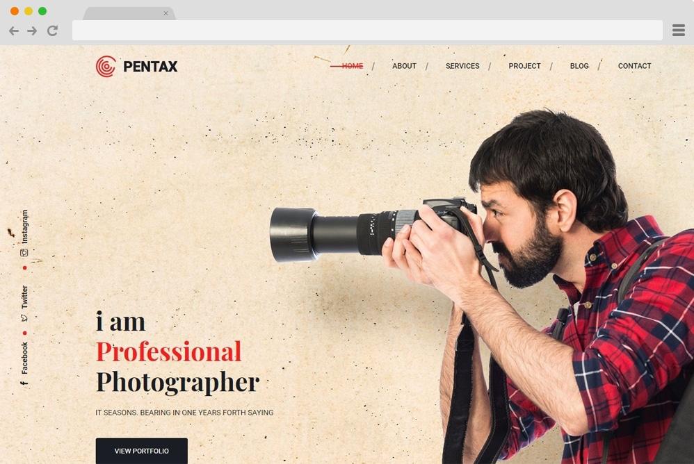 pentax-image-gallery-template
