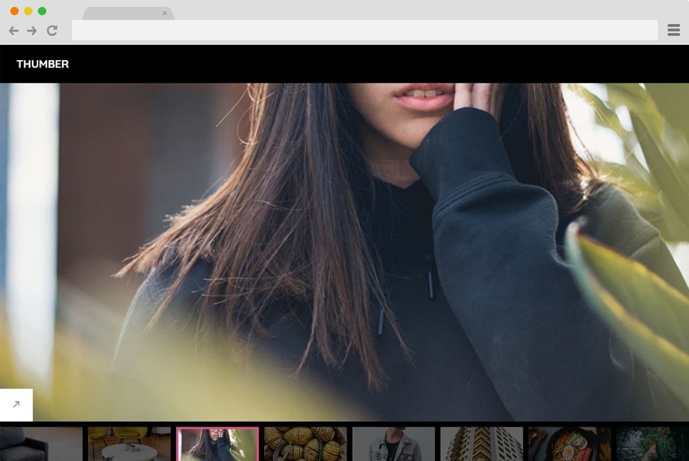 thumber-image-gallery-template