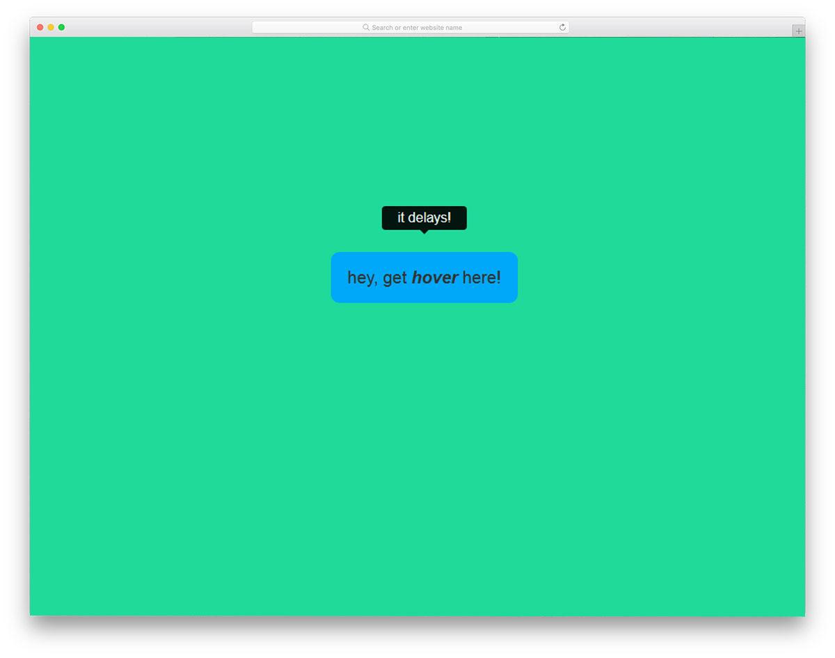 BootstrapsTooltip-Hover-Delay