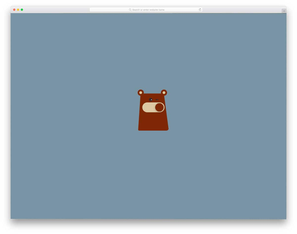 CSS-Bear-Toggle