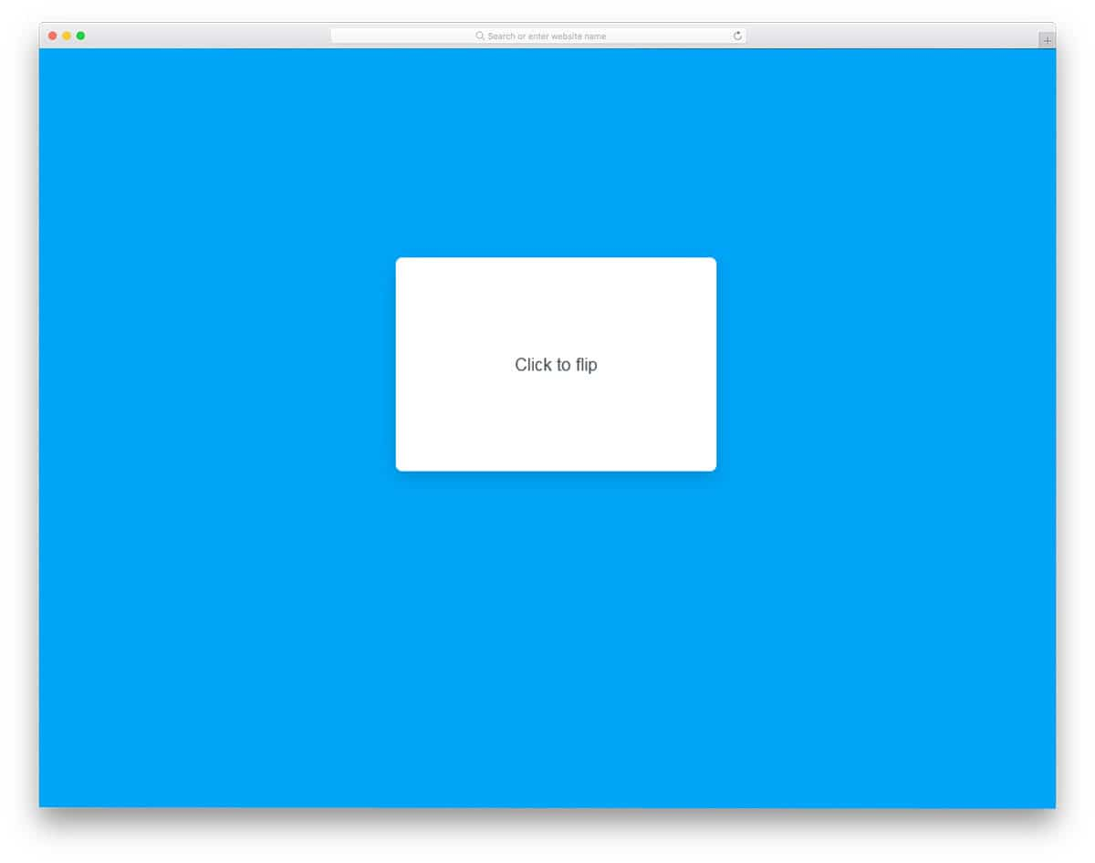 20 CSS Card Flip Animations For Communicating Quick Stories 2019