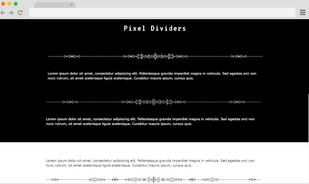 CSS divider 9