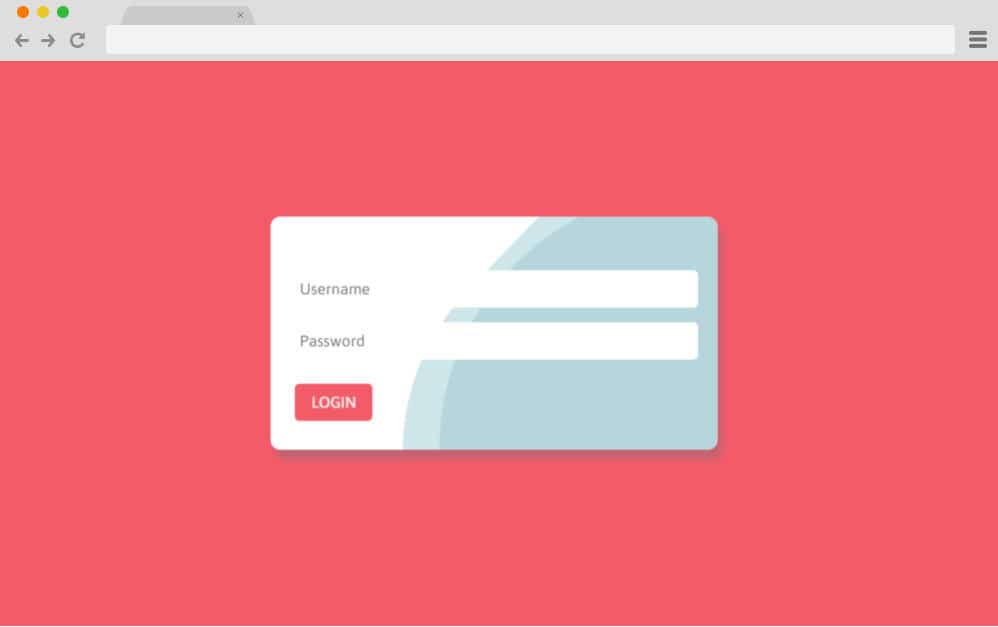 CSS forms - wavy login form 10
