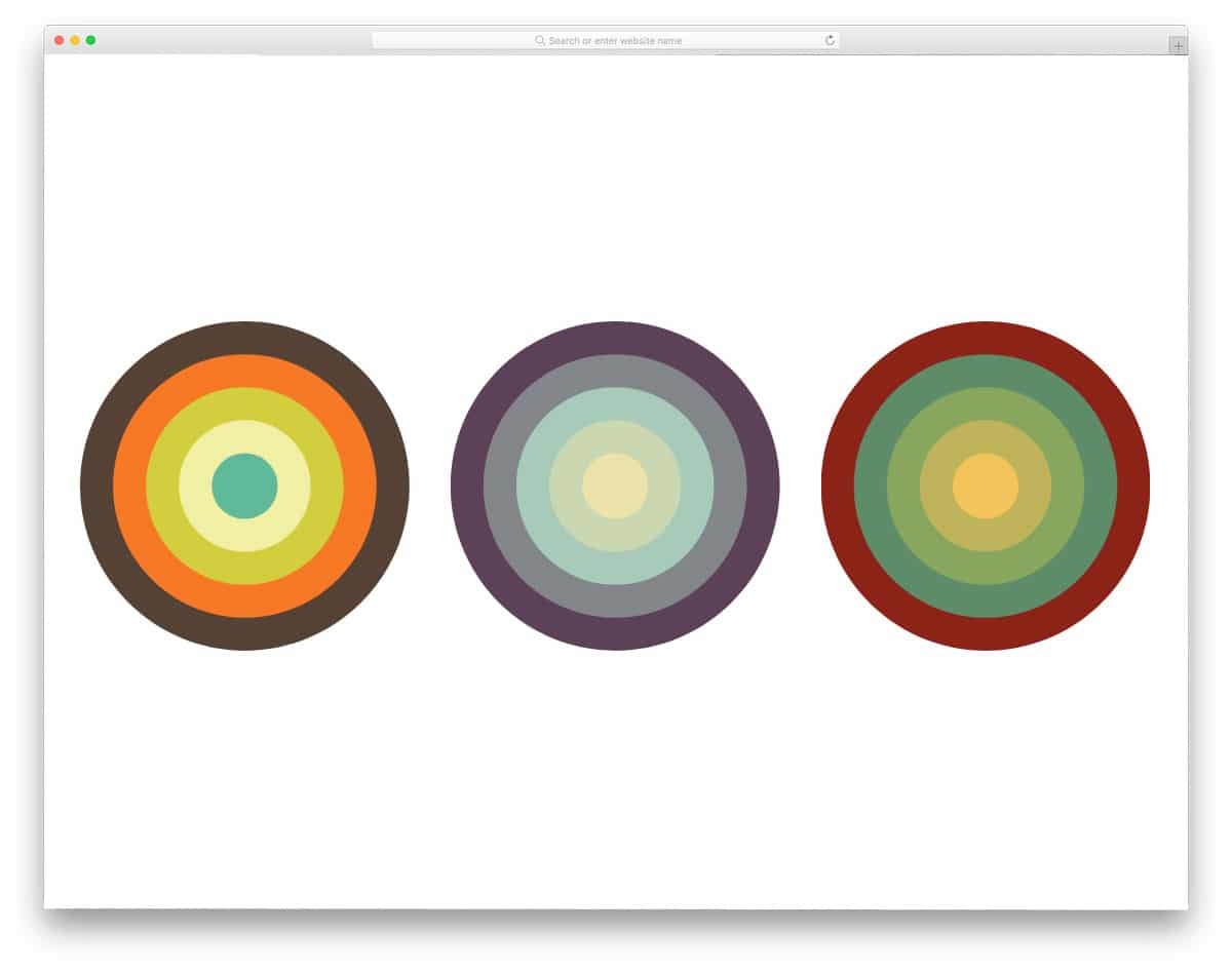 Color-Palette-Circles
