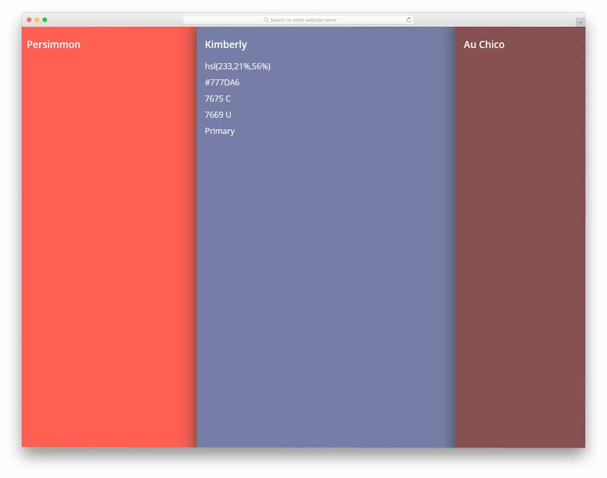 Color-Palette-Flexbox