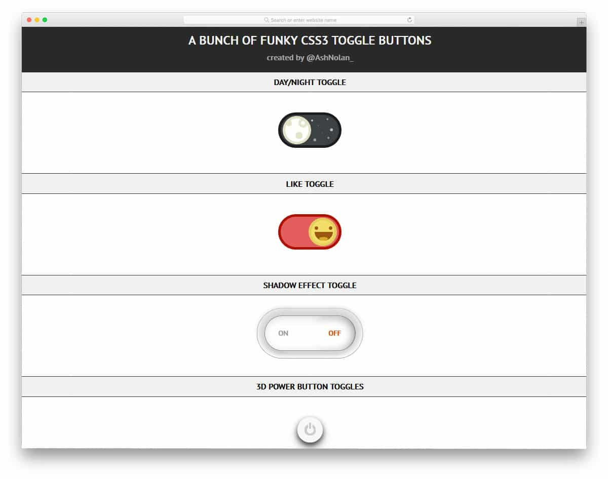 Funky-CSS3-Toggle-Buttons