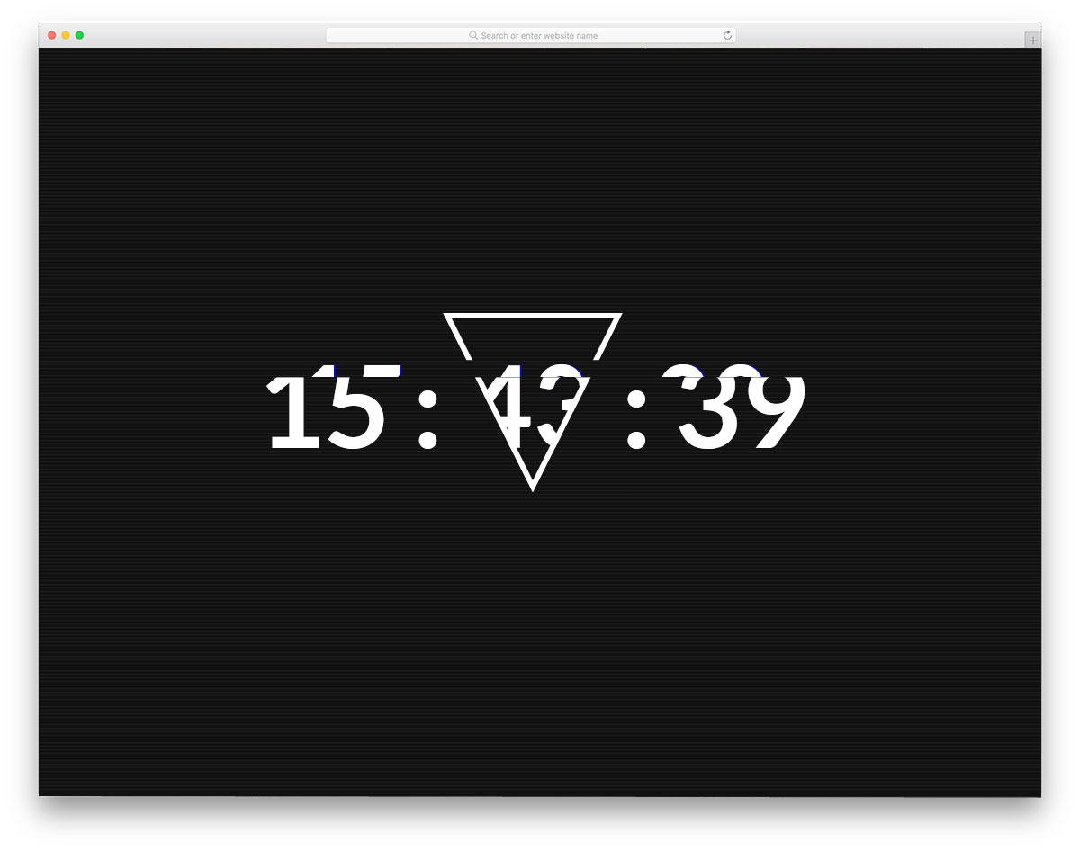 Glitch-Clock