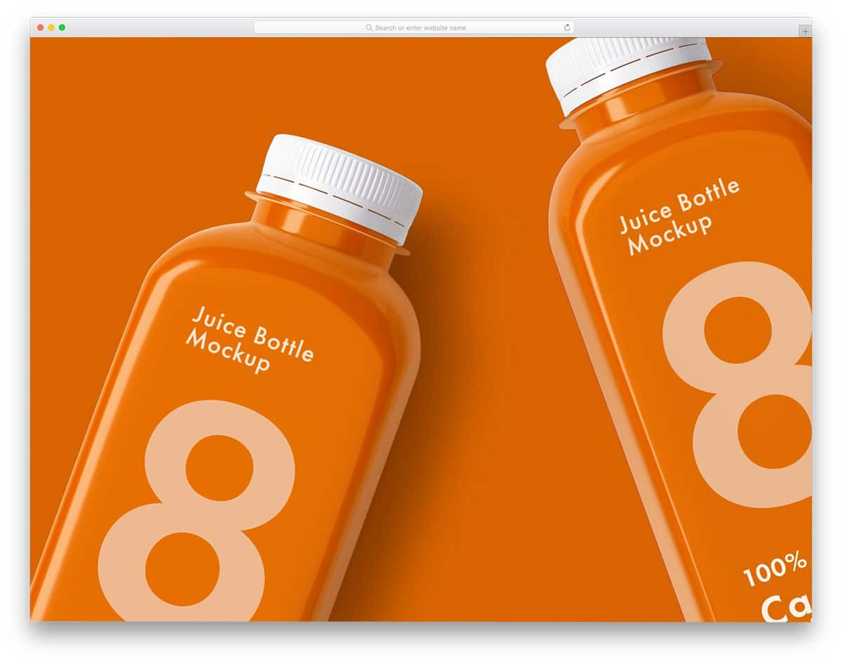 Juice-Bottle-Mockup-Set