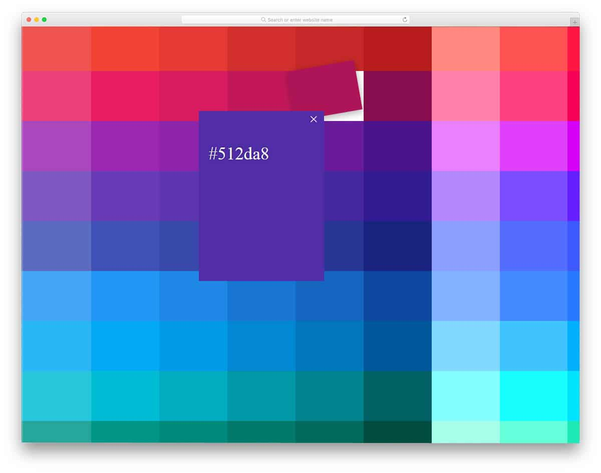 Material-Color-Palette