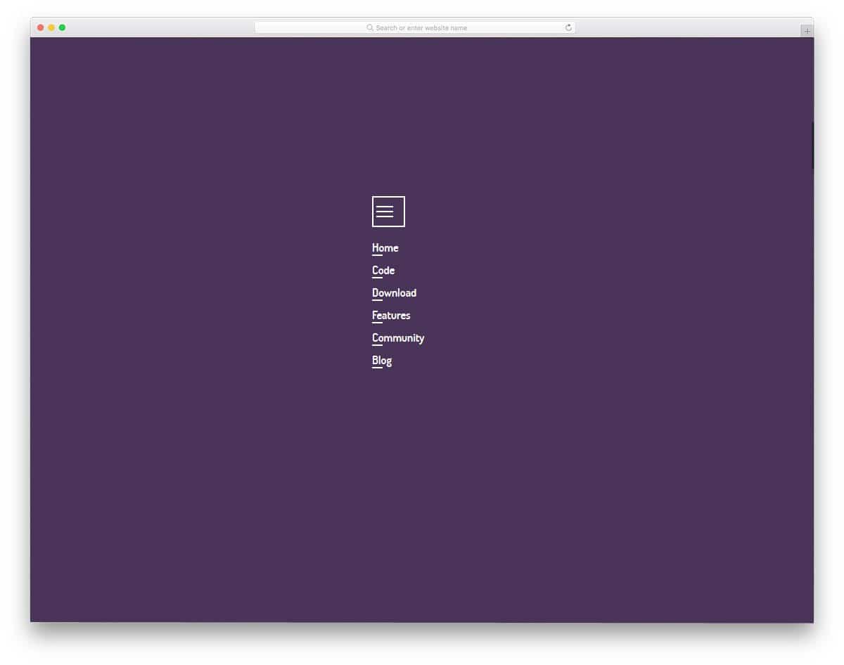 Mob-Menu-Only-CSS