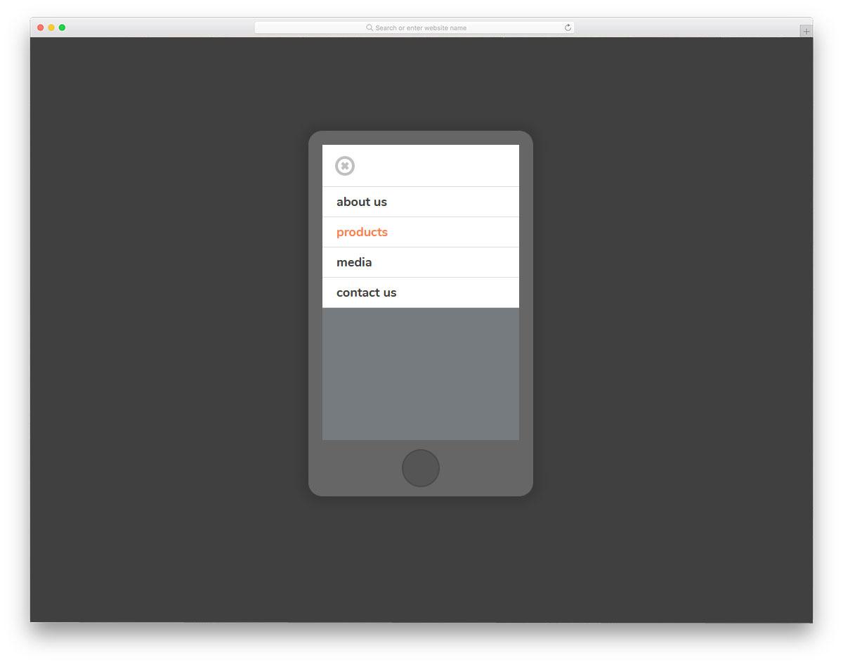 Mobile-Nav-Only-Checkbox-CSS