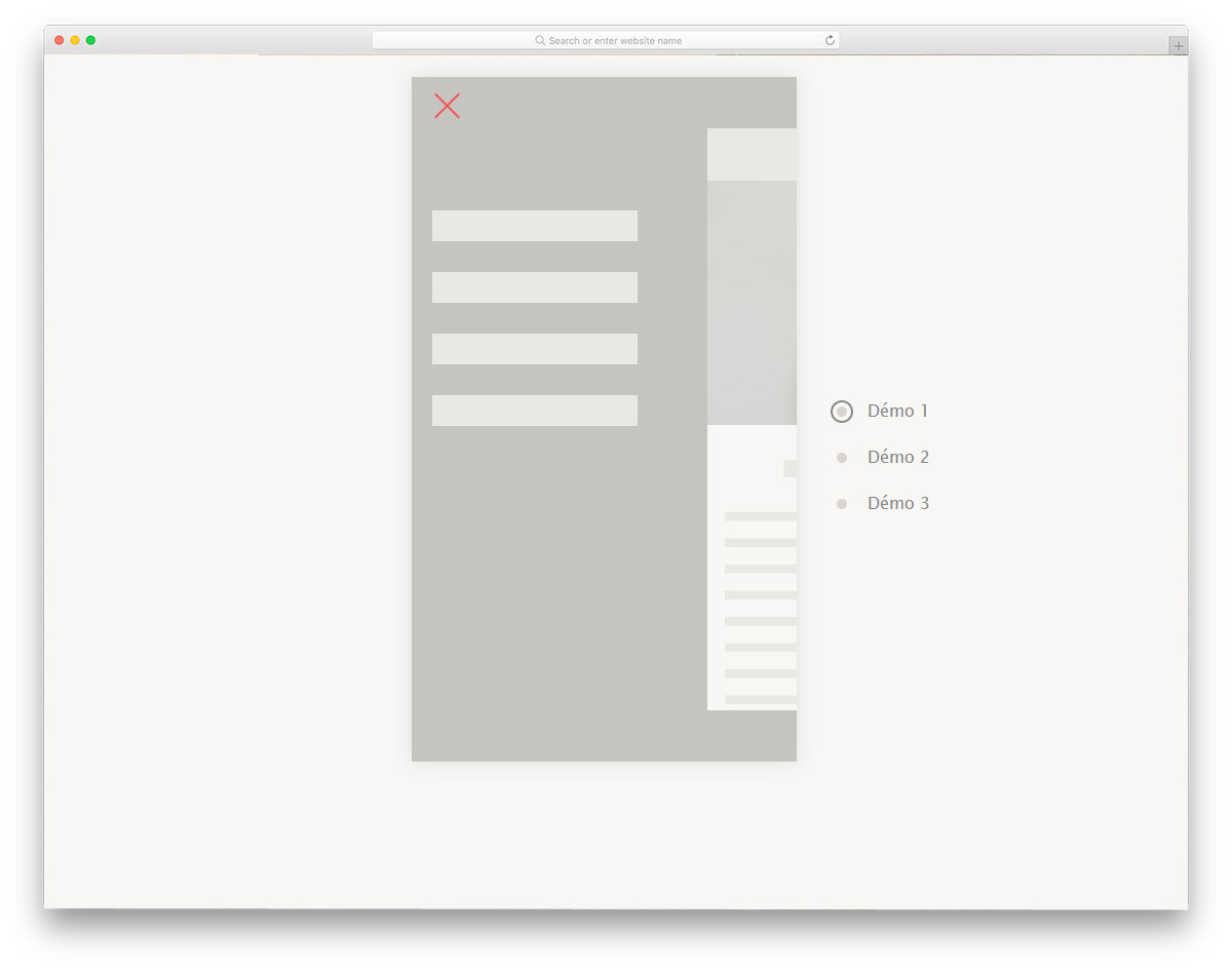 Pure-CSS-Mobile-Nav-Animation