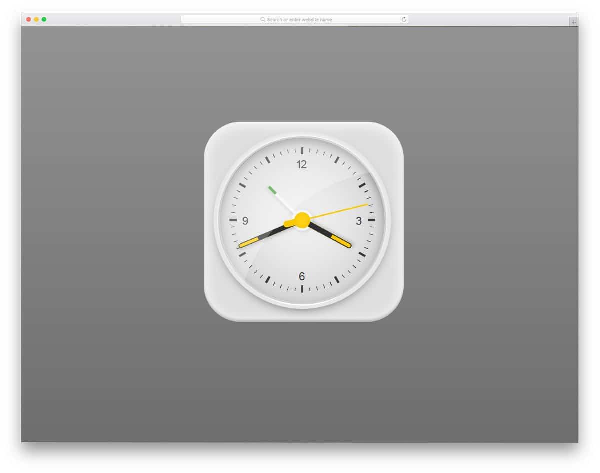 Pure-HTML-and-CSS-Braun-Clock