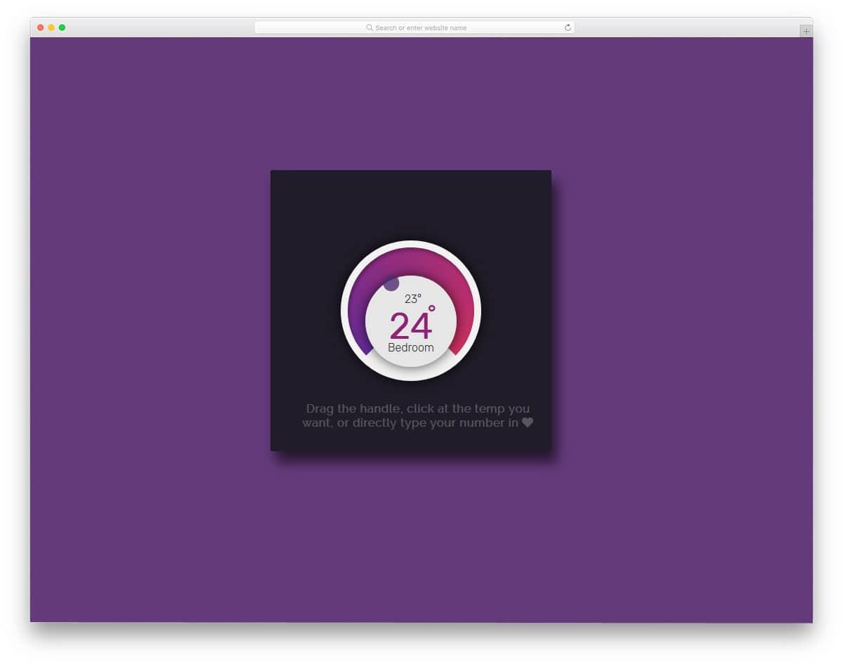 20 Interactive Range Slider CSS Designs To Quickly Explore