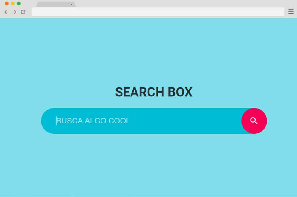Search Box by Ricardo html search box