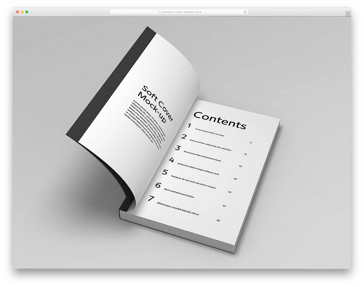 Soft-Cover-Book-Mockup