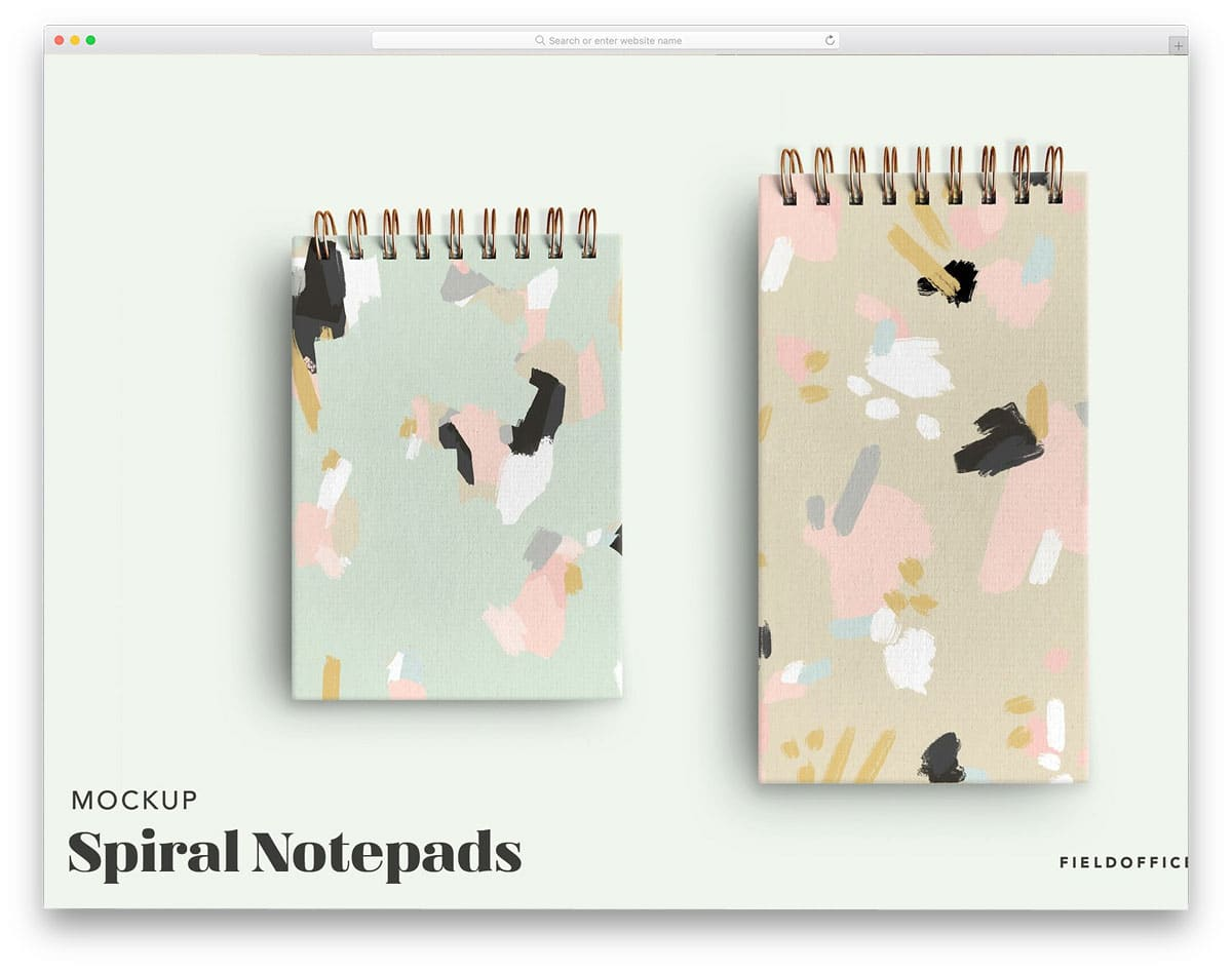 Spiral-Notebook-Set-Mockup