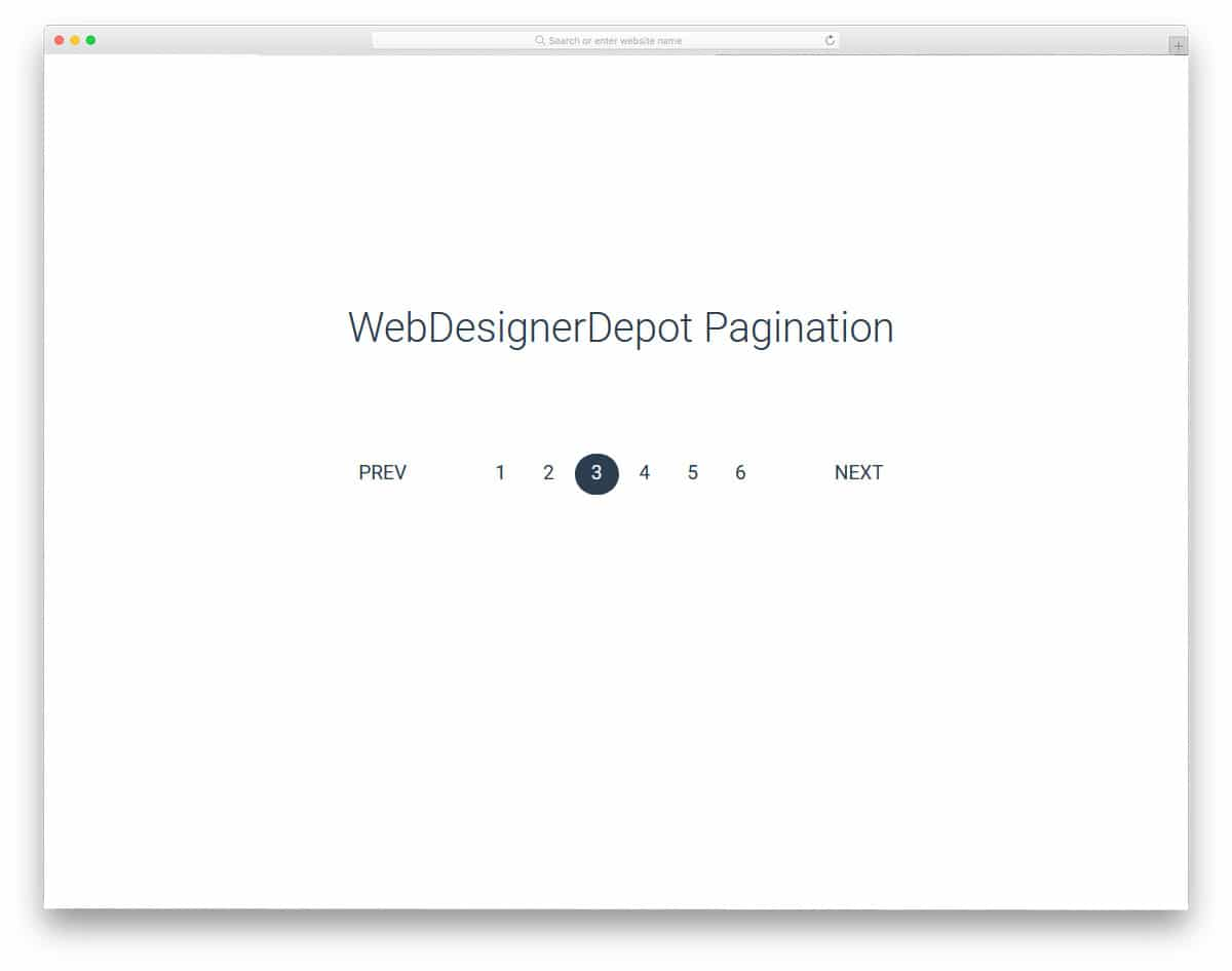 20 Easy To Navigate Pagination CSS Designs In 2019 - uiCookies