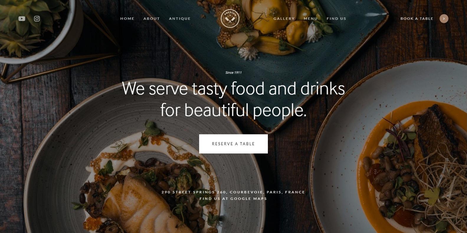ave-restaurant-website-template