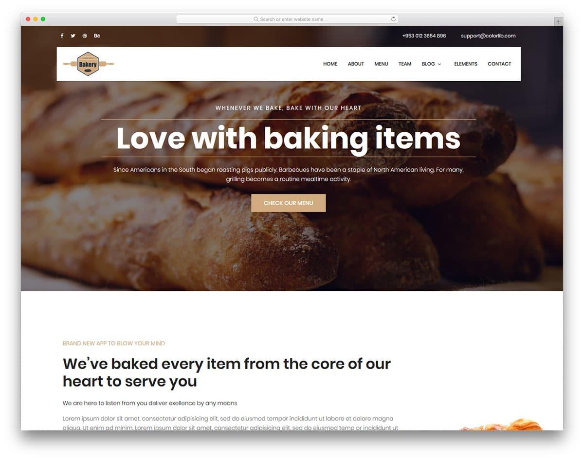 bakery-free-html-website-templates