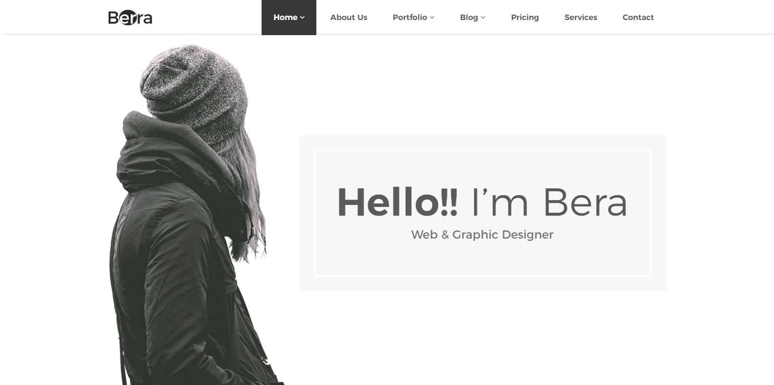 berra-single-website-template