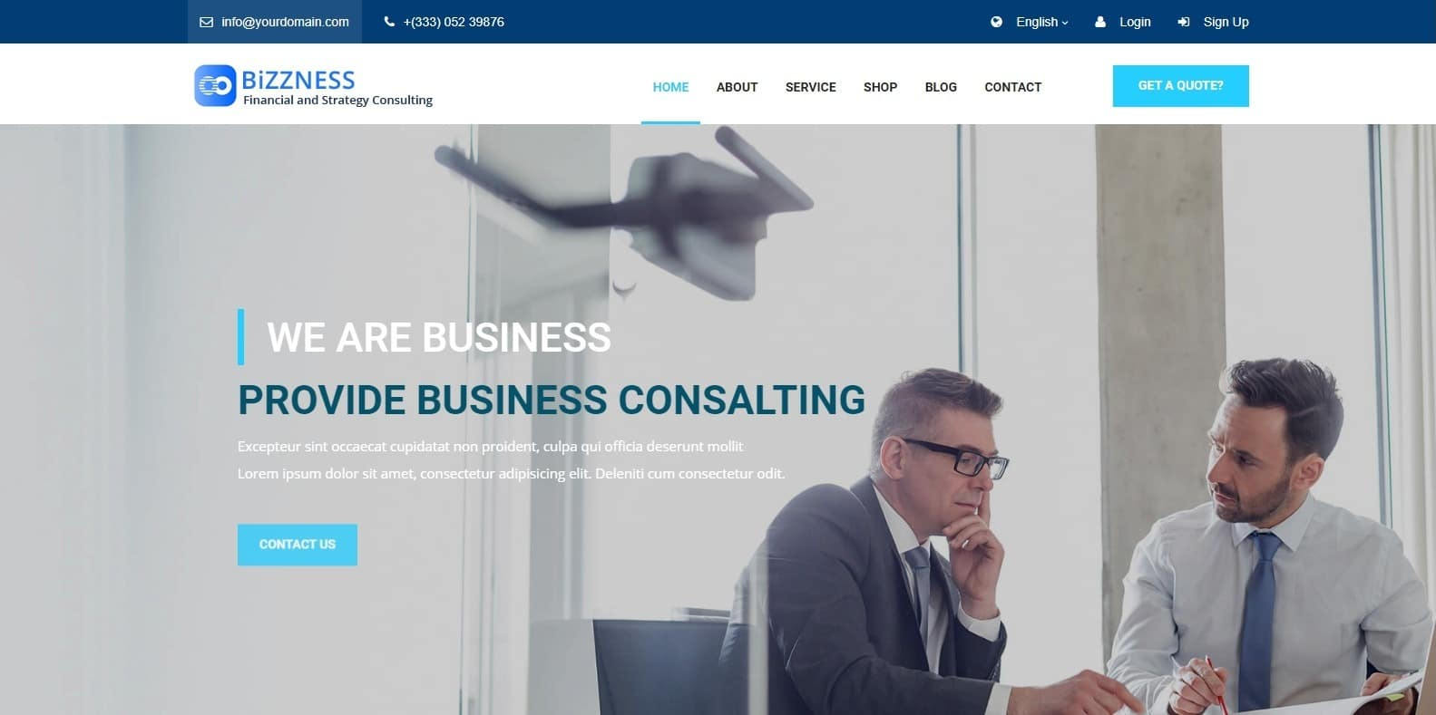 bizlocas-business-website-template