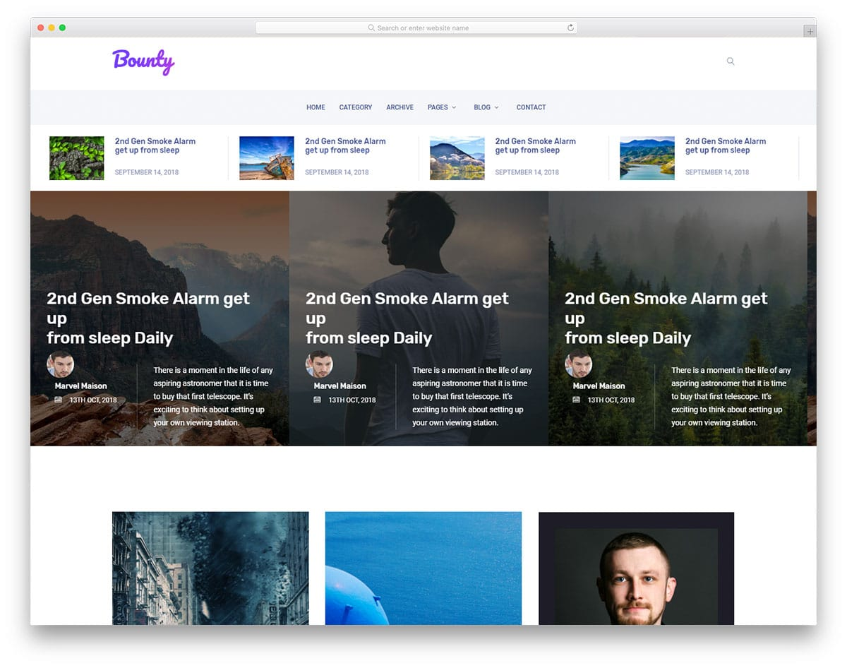 bounty-free-blog-templates