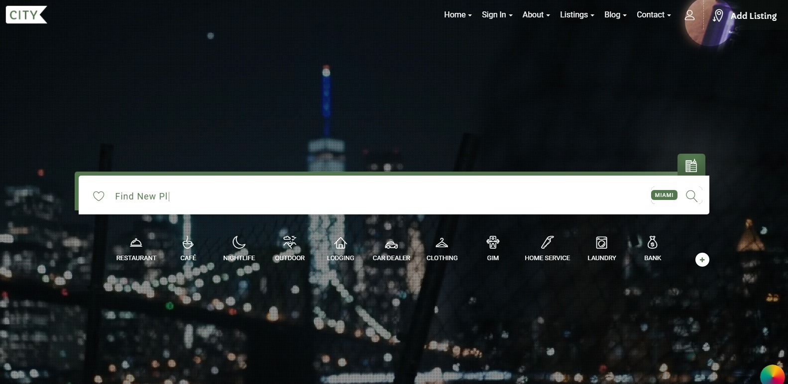 city-listing-business-website-template