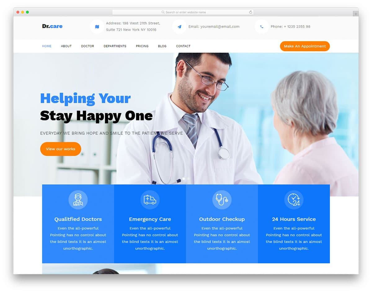 drcare-free-medical-website-templates