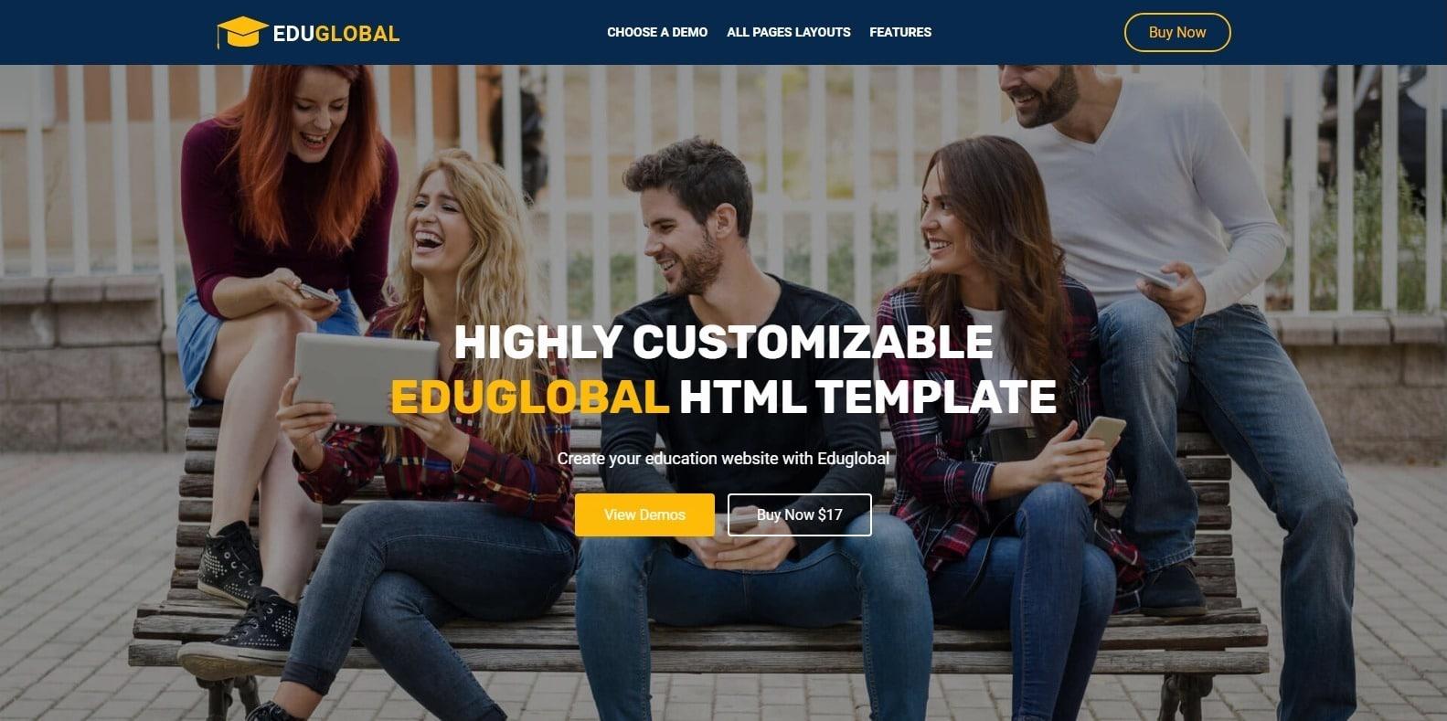 eduglobal-education-website-template