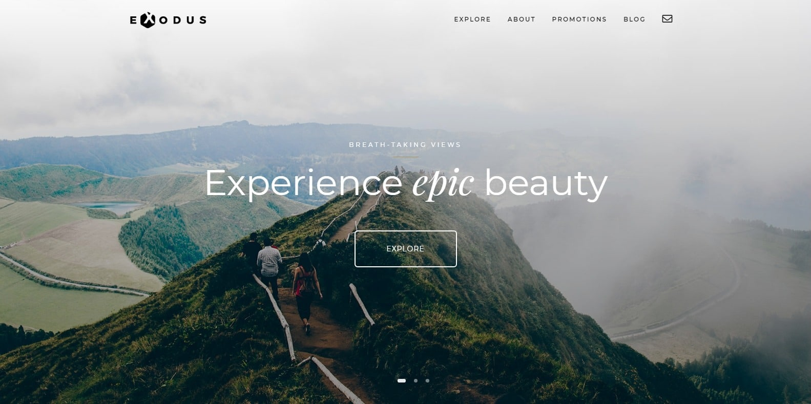 exodus-travel-website-template