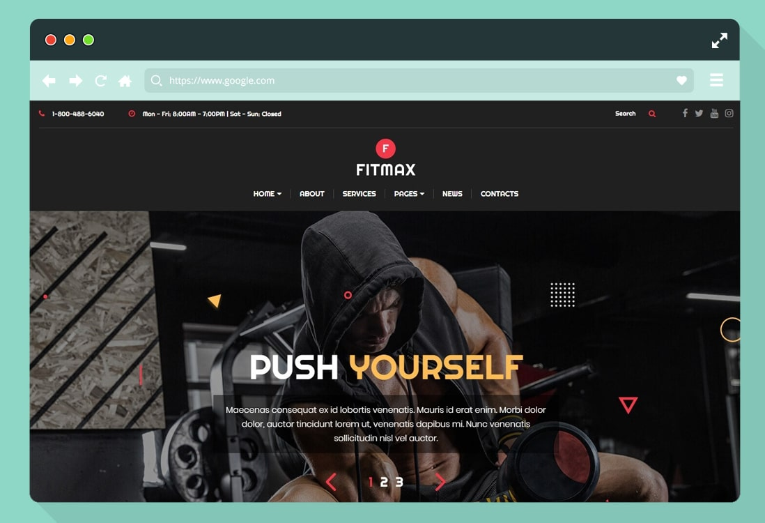 fitness-website-templates