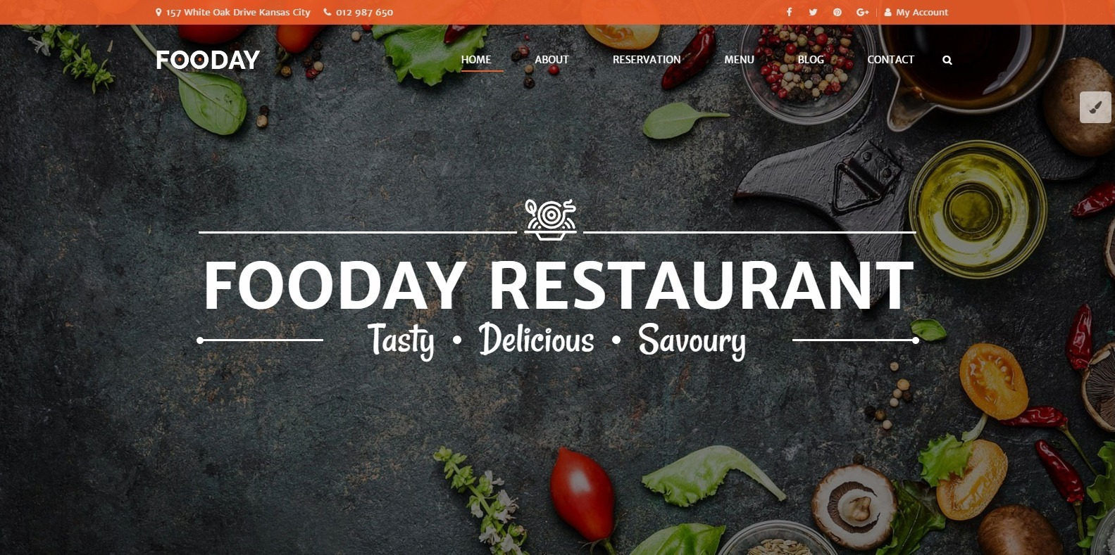 fooday-restaurant-website-template