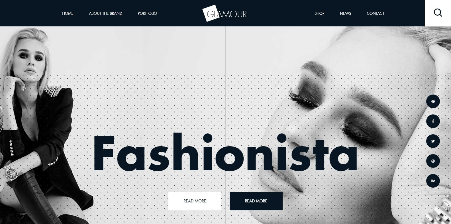 glamour-shop-website-template