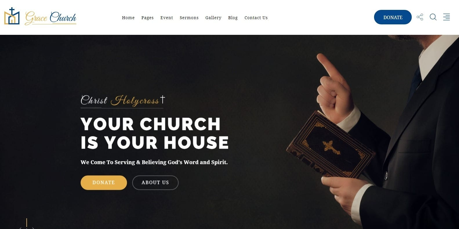 grace-church-website-template