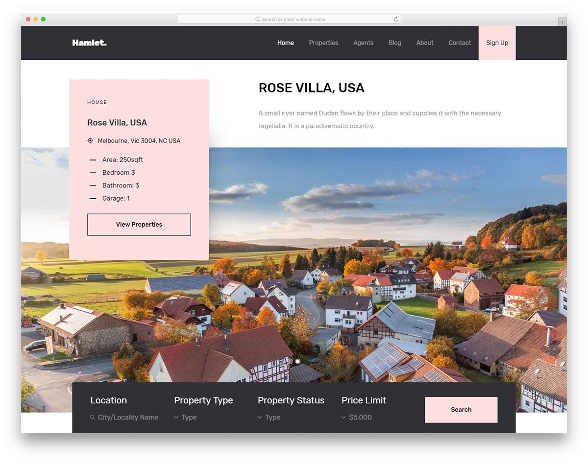 hamlet-free-directory-website-templates