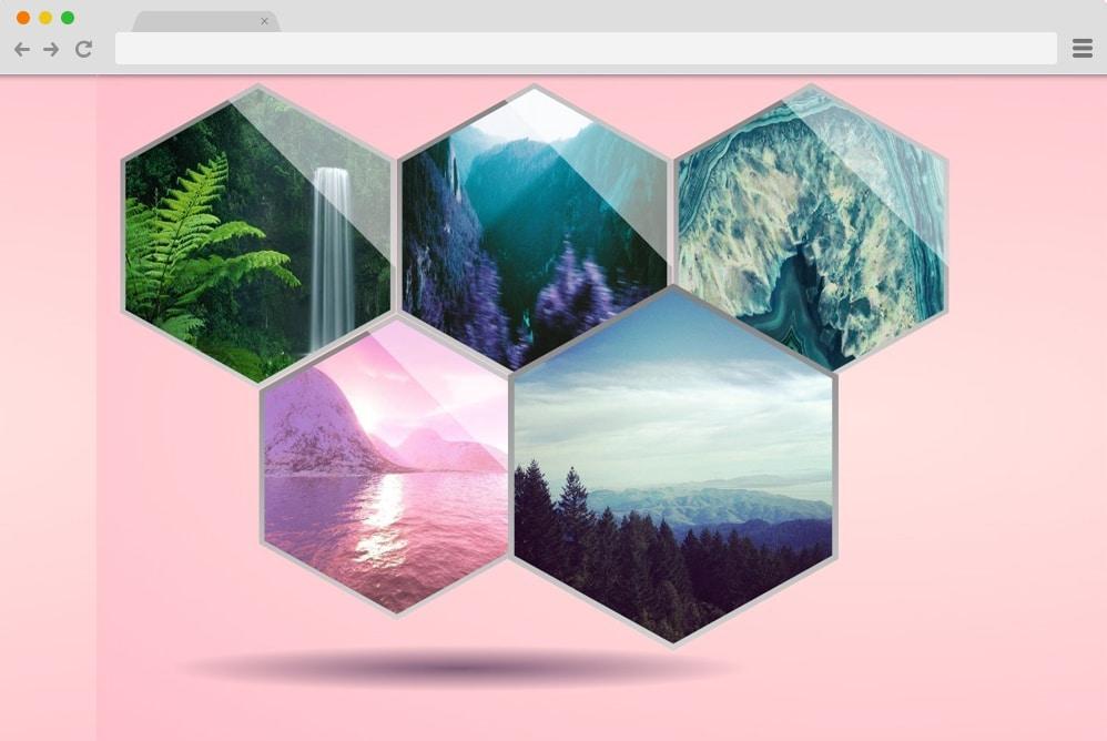 hexagon gallery