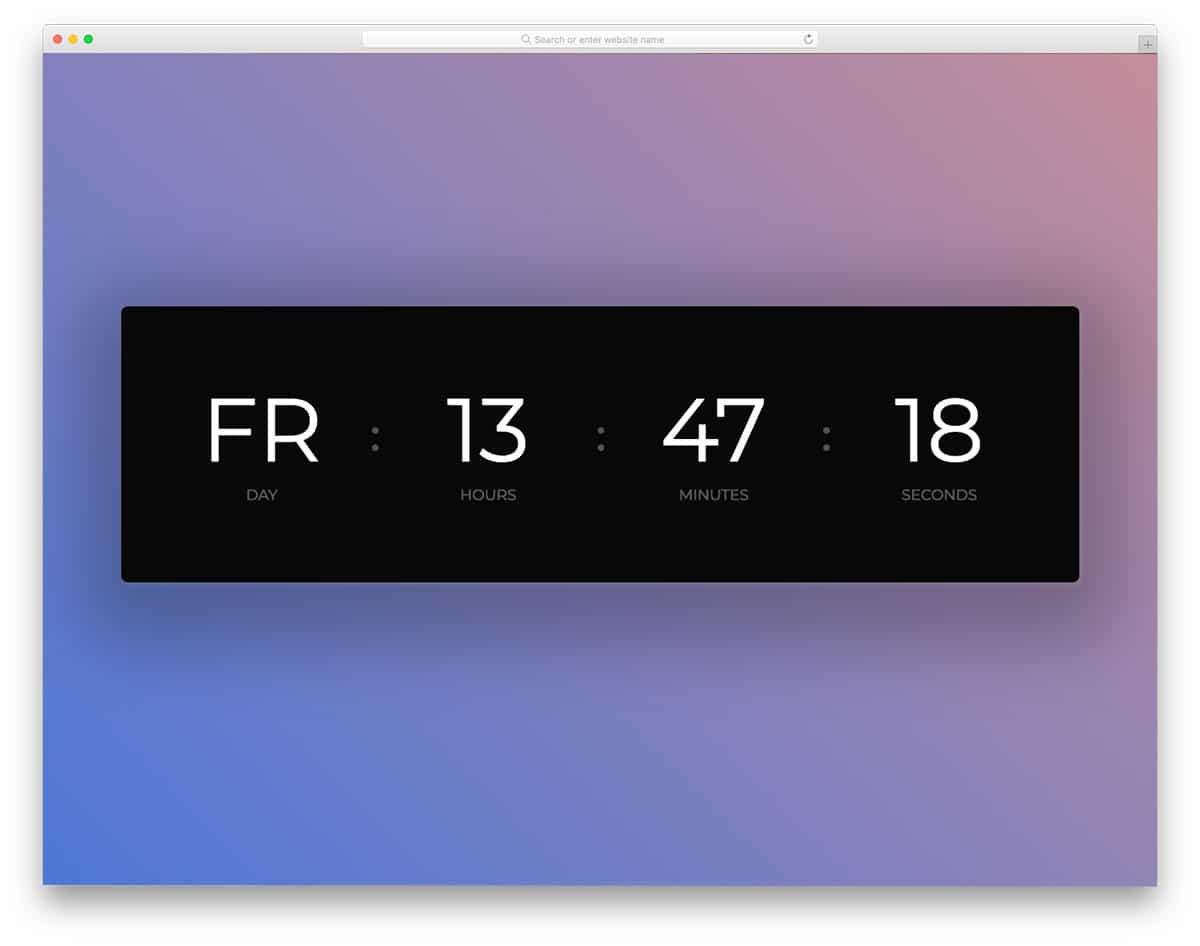 html-clock