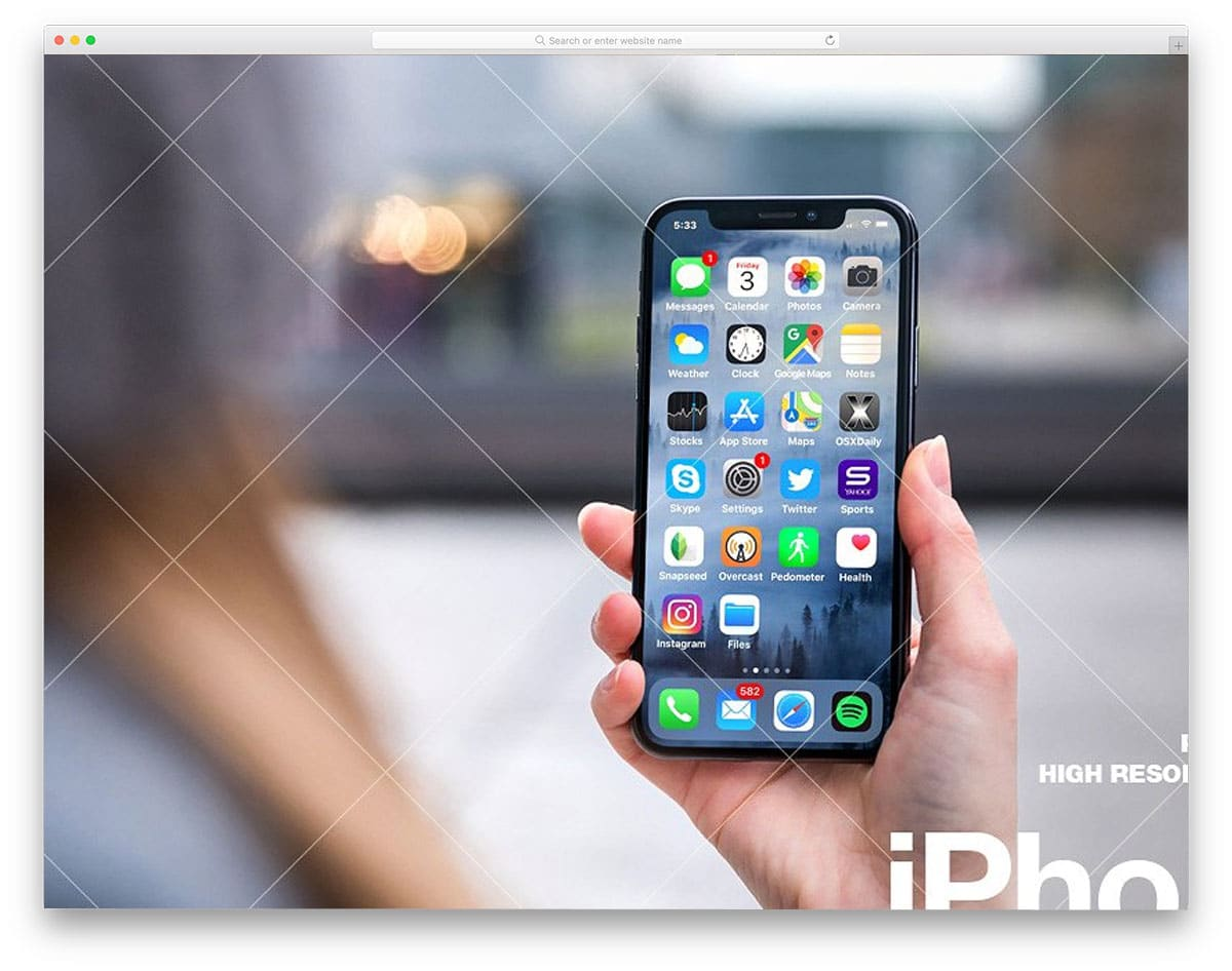 iPhone-X-PSD-Mockup